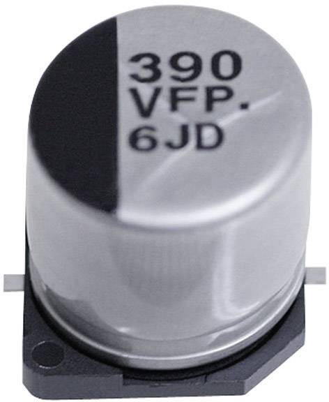 SMD kondenzátor elektrolytický Panasonic hliník EEEFP1E100AR, 10 µF, 25 V, 20 %, 5,8 x 4 mm
