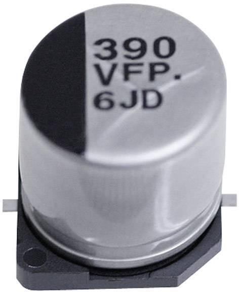 SMD kondenzátor elektrolytický Panasonic hliník EEEFPE101XAP, 100 µF, 25 V, 20 %, 7,7 x 6,3 mm
