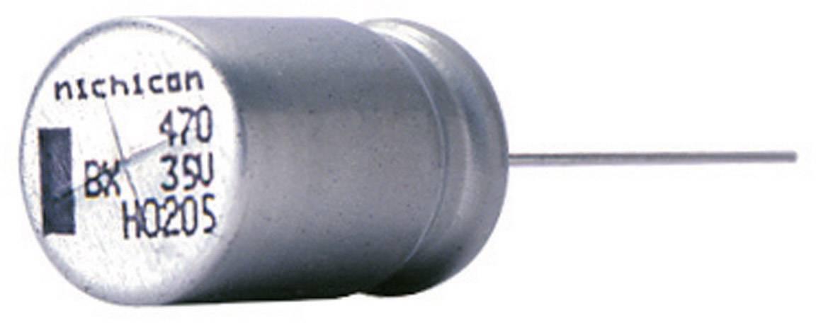 Kondenzátor elektrolytický Nichicon UBX1V100MPL, 10 µF, 35 V, 20 %, 12,5 x 10 mm