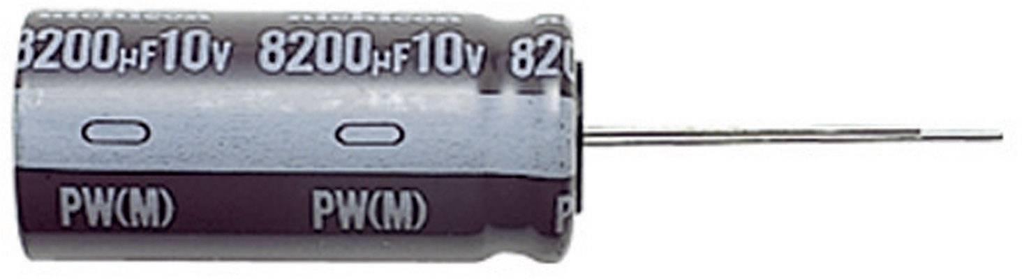 Kondenzátor elektrolytický Nichicon UPW1J221MPD, 220 µF, 63 V, 20 %, 20 x 10 mm