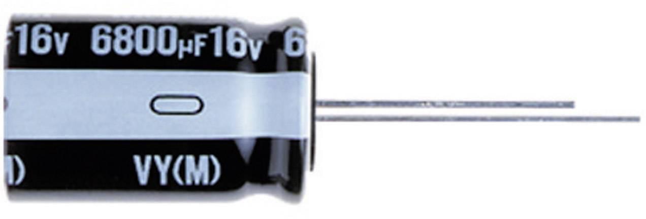 Kondenzátor elektrolytický Nichicon UVY0J222MPD, 2200 µF, 6,3 V, 20 %, 16 x 10 mm