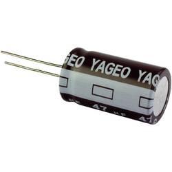 Kondenzátor elektrolytický Yageo SE063M0010AZF-0511, 10 µF, 63 V, 20 %, 11 x 5 mm