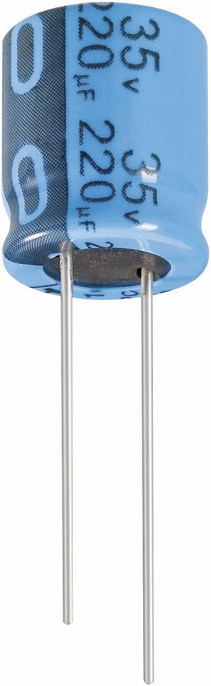 Elektrolytický kondenzátor Jianghai ECR1VPT4R7MFF200511, radiálne vývody, 4.7 µF, 35 V, 20 %, 1 ks