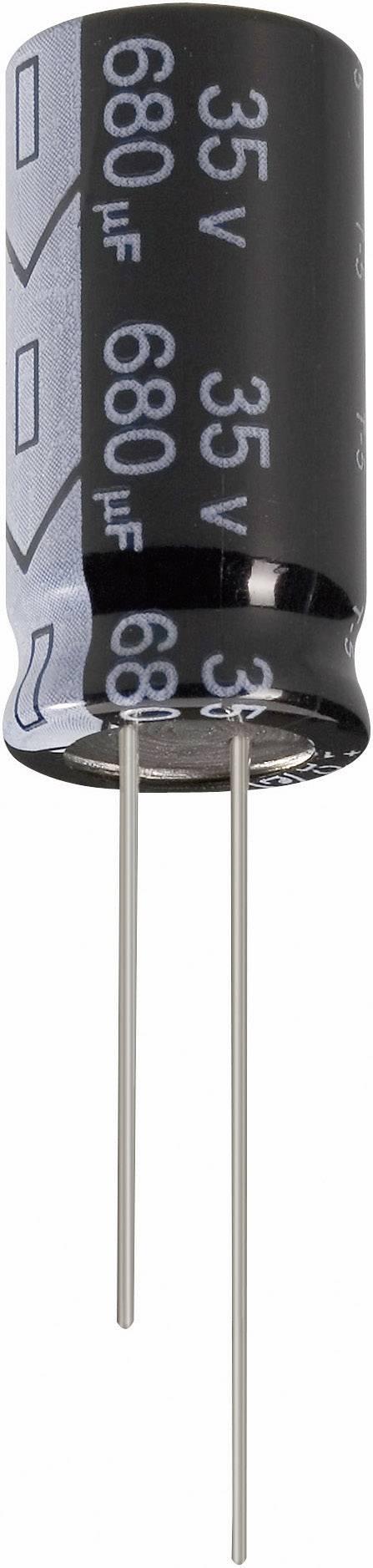 Elektrolytický kondenzátor Jianghai ECR1HGC100MFF200511, 2 mm, 10 µF, 50 V, 20 %, 1 ks