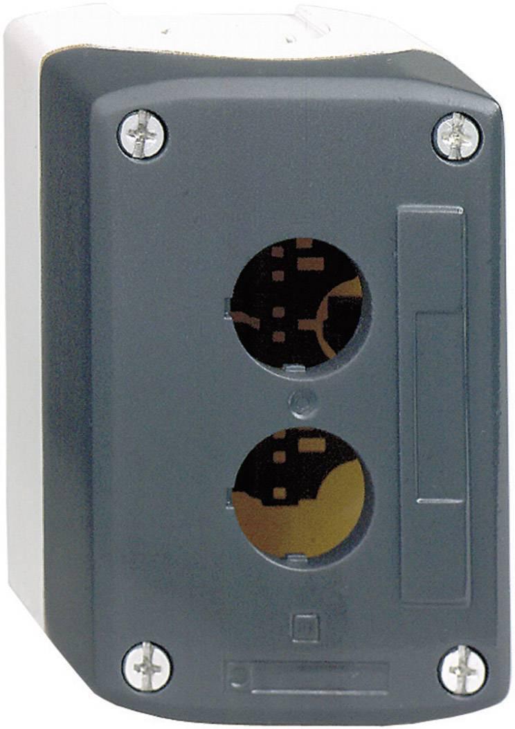 Kryt Schneider Electric XALD02, tmavě šedá/světle šedá