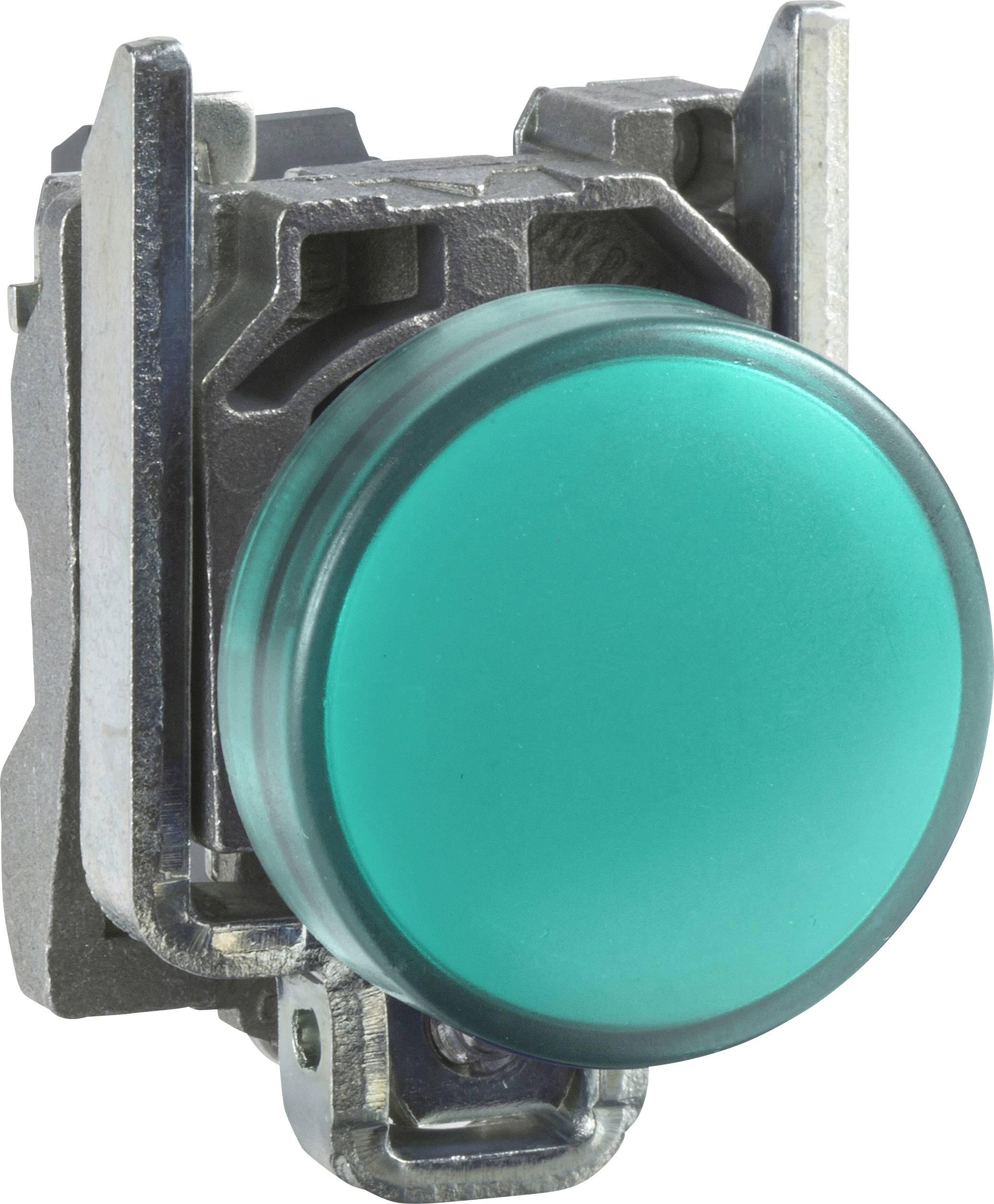 Signalizačné svetlá Schneider Electric XB4BVB3, 24 V/DC, 24 V/AC, zelená, 1 ks