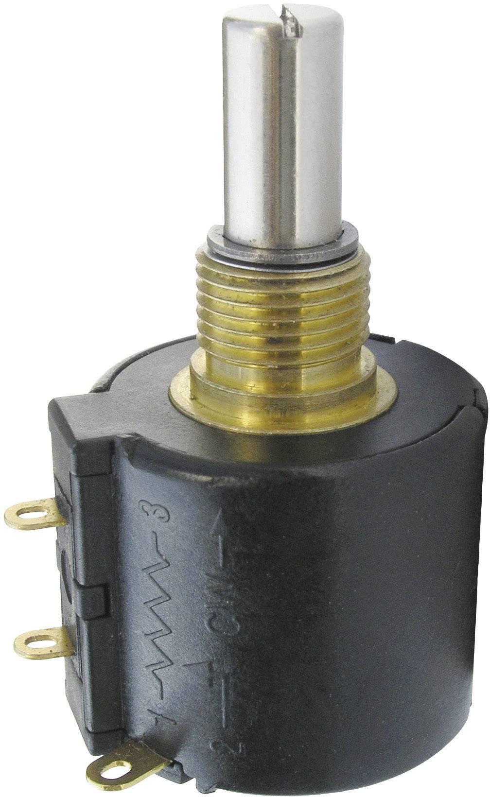 Precizní potenciometr Wirewound, 10cestný Mono Bourns 3549S-1AA-501A 3549S-1AA-501A, 2 W, 500 Ohm, 1 ks