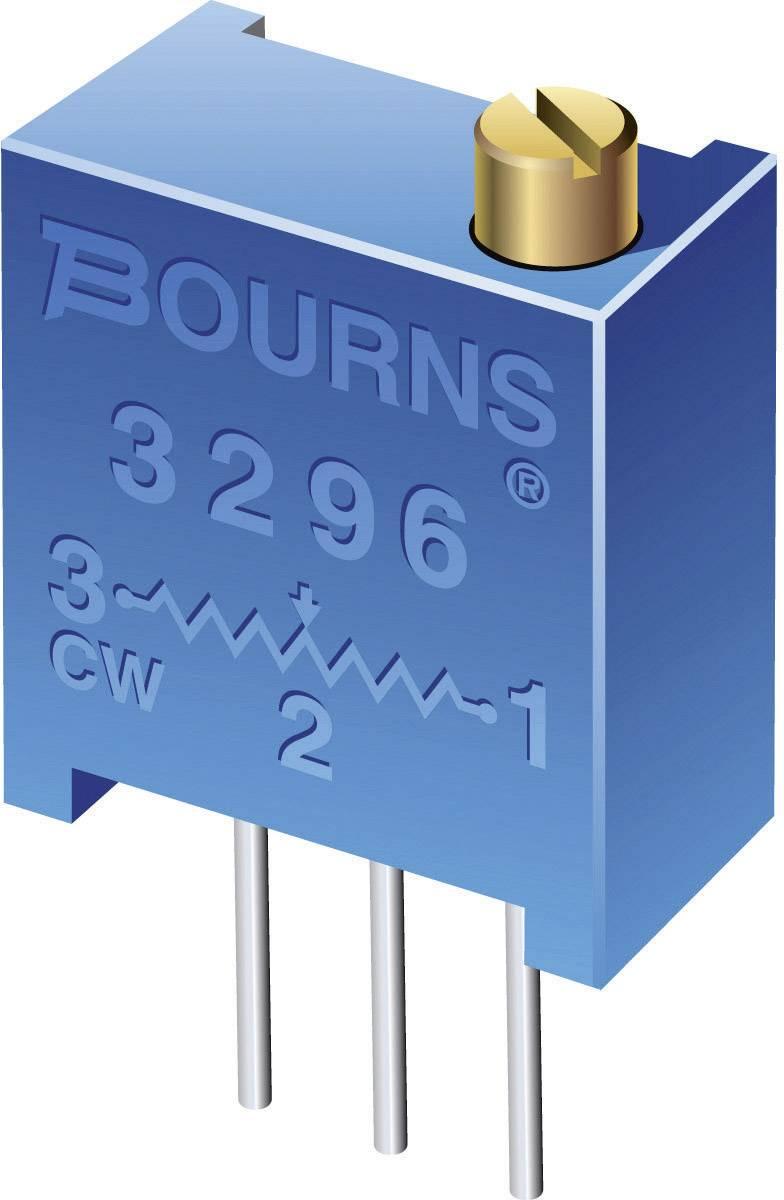 Trimr THT Bourns 3296X-1-504LF, 500 kΩ, ± 10 %, 0,5 W