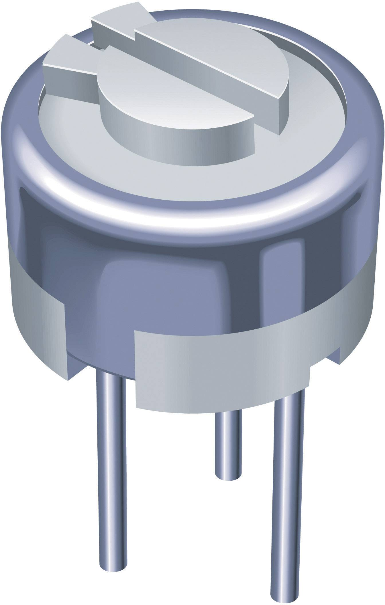 Trimer Bourns 3329H-1-502LF, lineárny, 5 kOhm, 0.5 W, 1 ks