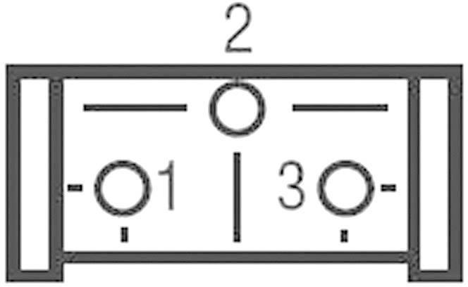 Trimer Bourns 3362X-1-503LF, lineárny, 50 kOhm, 0.5 W, 1 ks