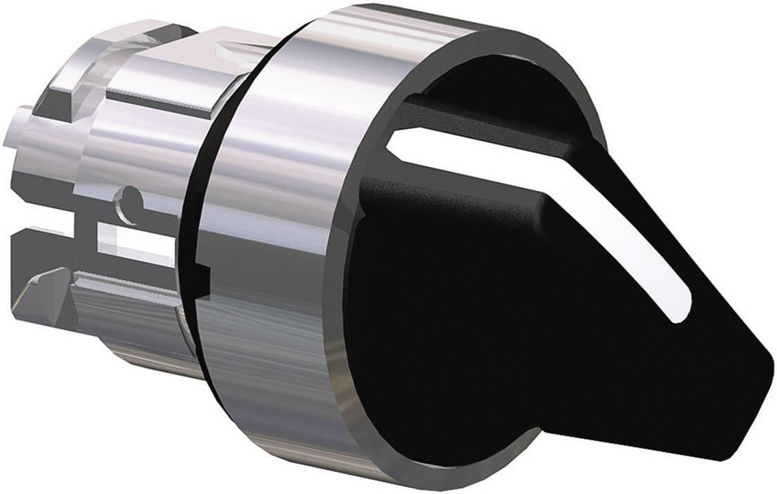 Tlačidlo voľby Schneider Electric Harmony ZB4BD3, 2 x 45 °, čierna, 1 ks