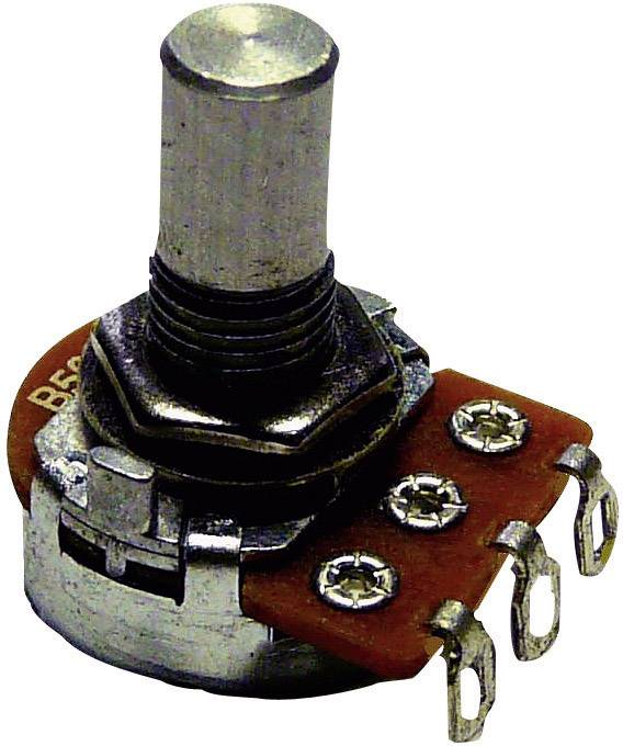 Otočný potenciometer mono Potentiometer Service 9307 9307, 0.2 W, 50 kOhm, 1 ks