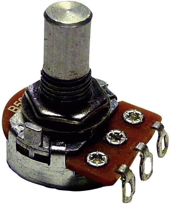 Otočný potenciometr Potentiometer Service GmbH 9306 Mono, 0.2 W, 25 kOhm, 1 ks