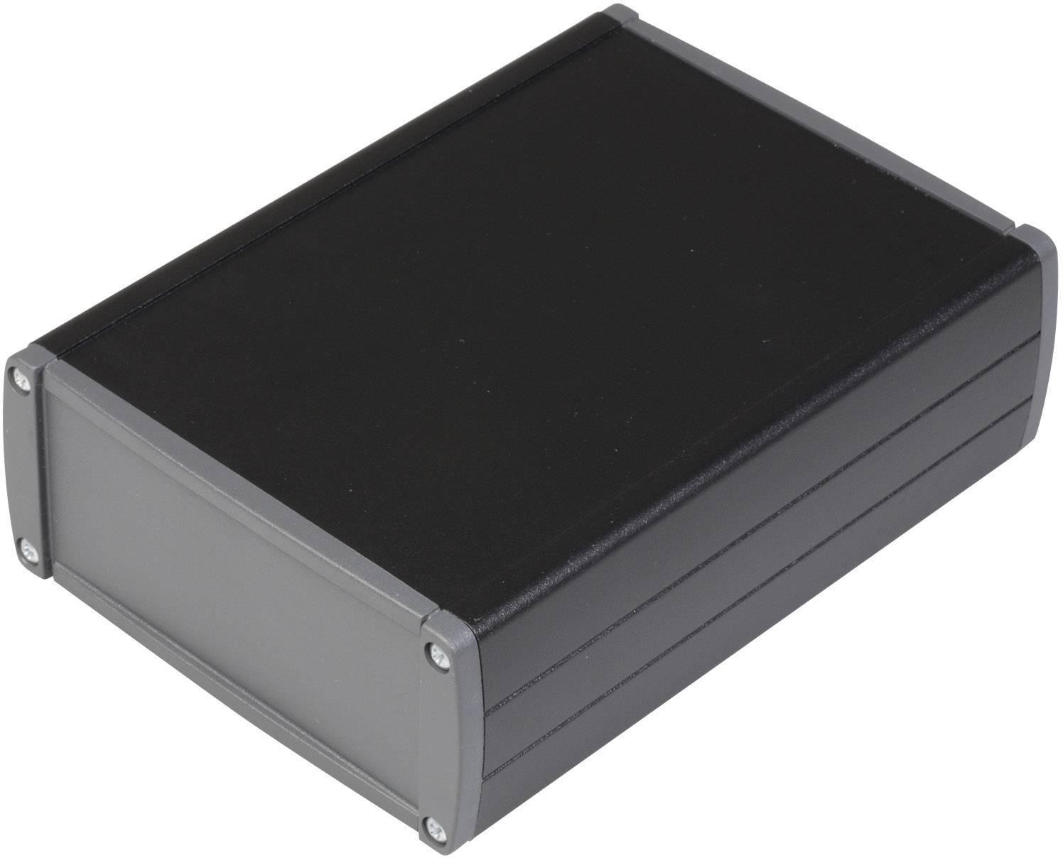 Univerzální pouzdro hliníkové TEKO TEKAL 32.29, (d x š x v) 145 x 105,9 x 41 mm, černá