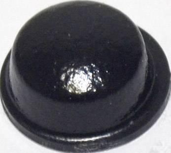 Podstavná nôžka prístrojová TOOLCRAFT PD2115SW, (Ø x v) 11.1 mm x 5 mm, čierna, 1 ks