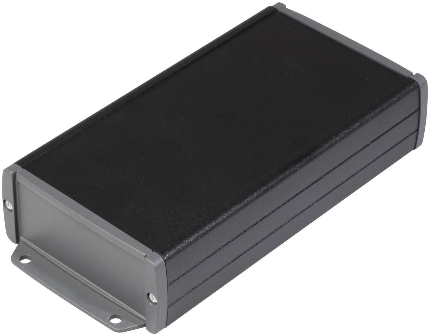 Univerzální pouzdro hliníkové TEKO TEKAL 23-E.29, (d x š x v) 180 x 85,8 x 36,9 mm, černá
