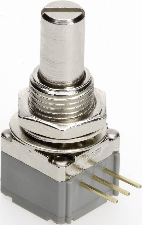 Vodivý plastový potenciometer prachotesný mono TT Electronics AB P260P-D1BS4A B-100 KR 4113805315, 100 kOhm, 1 ks