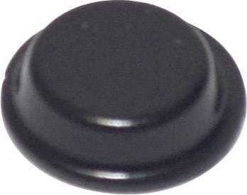 Podstavná nôžka prístrojová TOOLCRAFT PD2125SW, (Ø x v) 12.7 mm x 3.5 mm, čierna, 1 ks