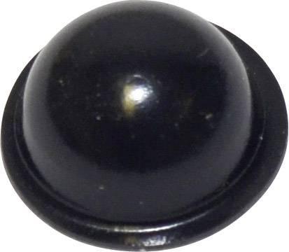 Podstavná nôžka prístrojová TOOLCRAFT PD2190SW, (Ø x v) 19 mm x 9.6 mm, čierna, 1 ks