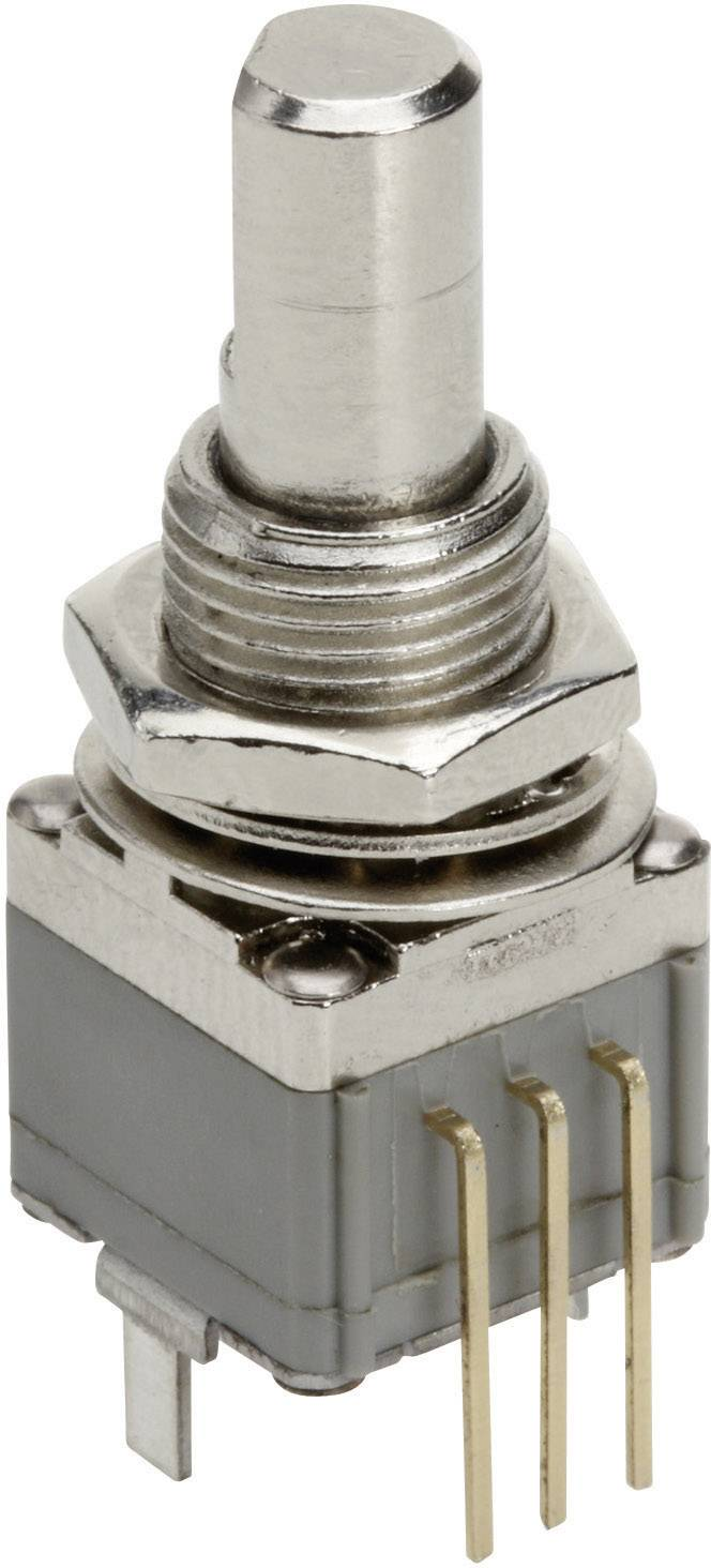 Vodivý plastový potenciometer prachotesný mono TT Electronics AB P260T-D1BF3C-B-1KR 4114001775, 1 kOhm, 1 ks