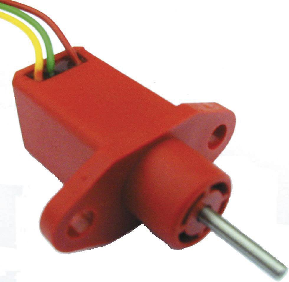 Snímač polohy mono TT Electronics AB LM 10 / 3M29 - 1 KR 4114902400, 1 kOhm, 1 ks