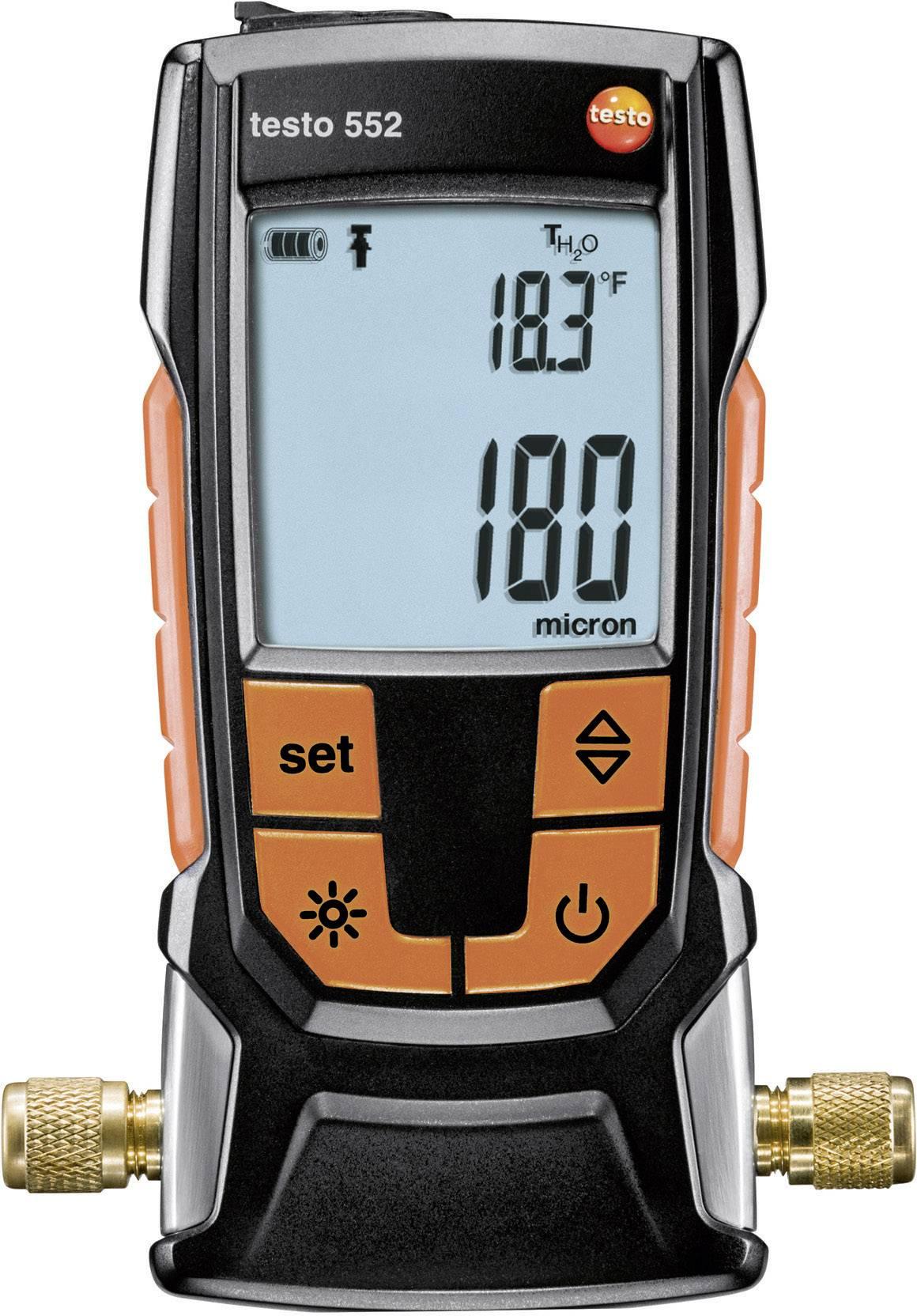 Digitální vakuometr s bezúdržbovým senzorem testo 552