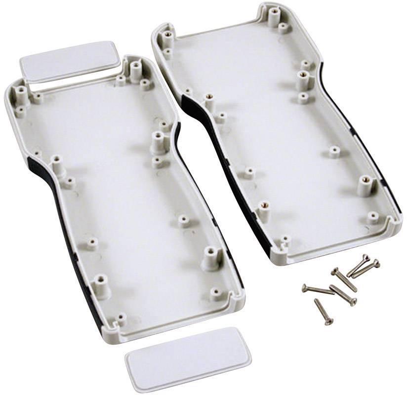 Plastová krabička Hammond Electronics 1553TGY, 210 x 100 x 32 mm, ABS, sivá, 1 ks