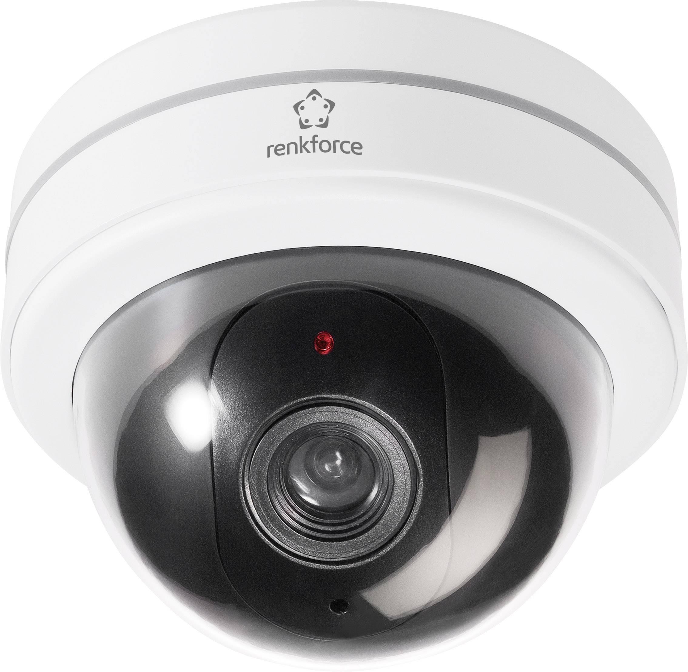 Atrapa kamery s blikajúcou LED diódou 454422