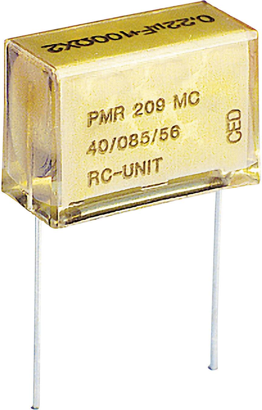 Odrušovací kondenzátor Kemet PMR209MB5470M100R30, 0,047 mF, 250 V/AC; 630 V, 20 %, 18,5 x 7,3