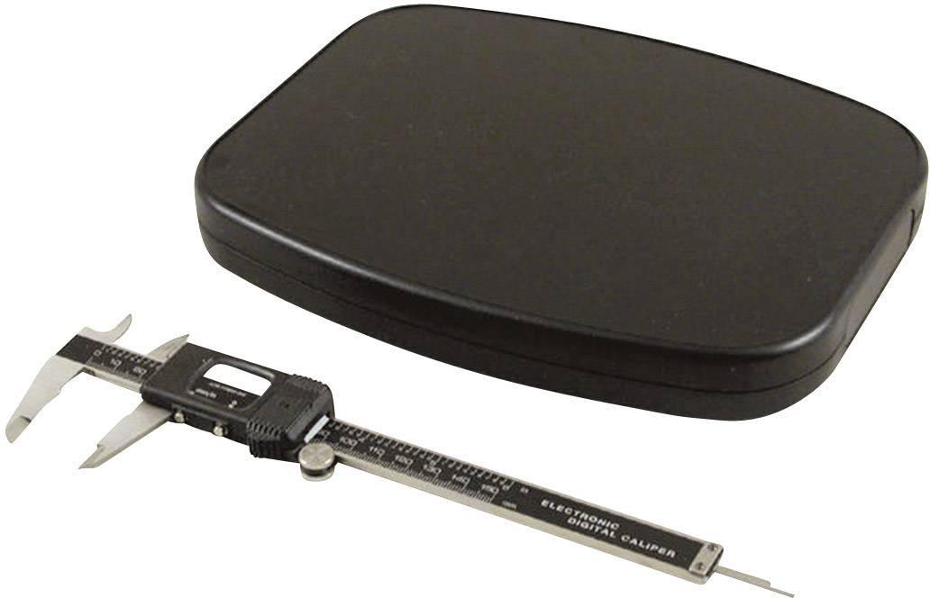 Univerzální pouzdro ABS Hammond Electronics 1599TABKBKBAT, 240 x 190 x 30 mm, černá