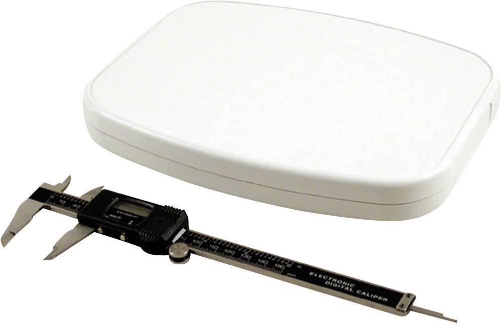 Univerzální pouzdro ABS Hammond Electronics 1599TABLGY, 240 x 190 x 30 mm, šedá