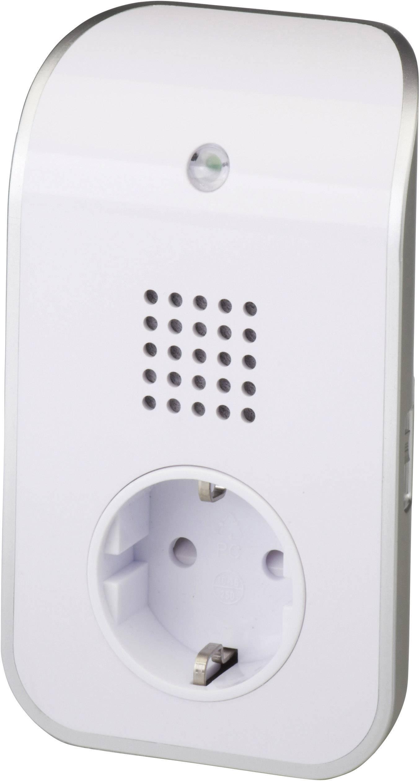 Bezdrôtový zvonček Heidemann HX Curve 70871, prijímač, biela, strieborná