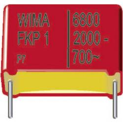 Foliový kondenzátor FKP Wima, 220 pF, 2000 V, 10 %, 18 x 5 x 11 mm