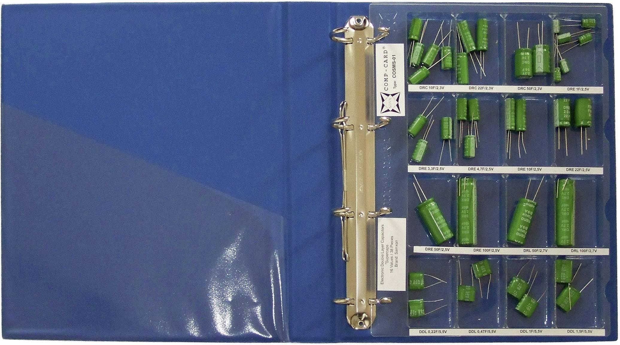 Sada Super Cap kondenzátorů NOVA by Linecard COSMS-01, 1 sada