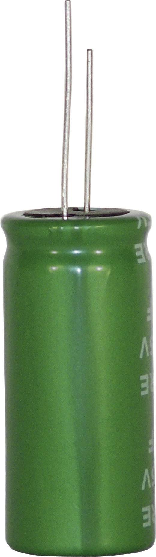 Kondenzátor elektrolytický 2-vrstvový DRE106S0EG30RRDAP, 10 F, 2,5 V, 20 %, 30 x 10 mm