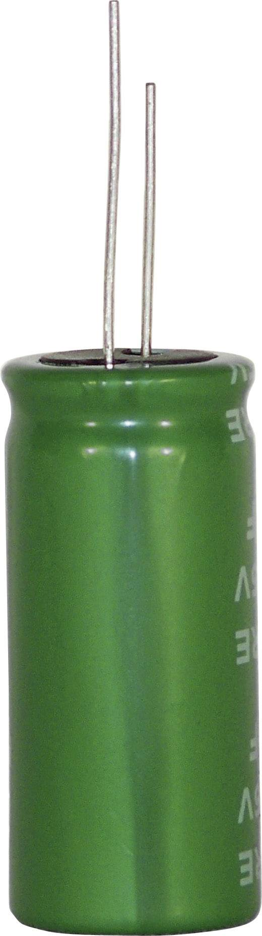 Kondenzátor elektrolytický 2vrstvý DRE105S0EF12RRDAP, 1 F, 2,5 V, 20 %, 12 x 8 mm