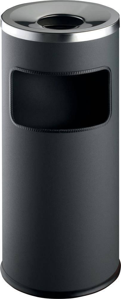 N/A s popelníkem Durable 3332-58, 630 mm, Ø 250 mm, 17 l, antracitová