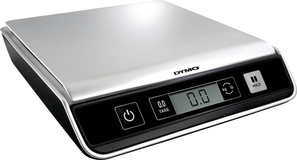 Váha na dopisy DYMO 606482, max. váživost 10 kg, stříbrná