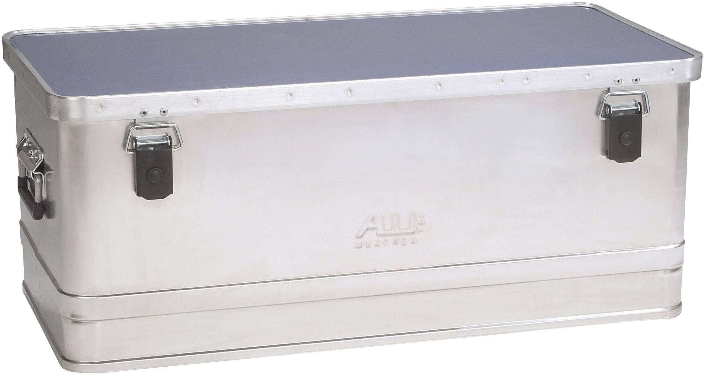 Přepravní a skladovací hliníkový box Alutec 34081, 775 x 375 x 320 mm