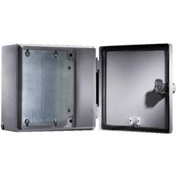 Instalační krabička Rittal E-Box 1557.500, 200 x 500 x 120 mm, ocelový plech, světle šedá , 1 ks
