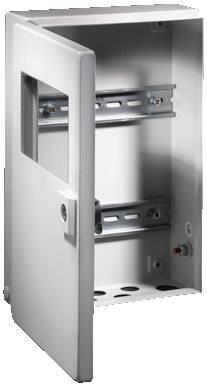Instalační krabička Rittal BG 1586.520, 500 x 300 x 80 mm, ocelový plech, světle šedá , 1 ks