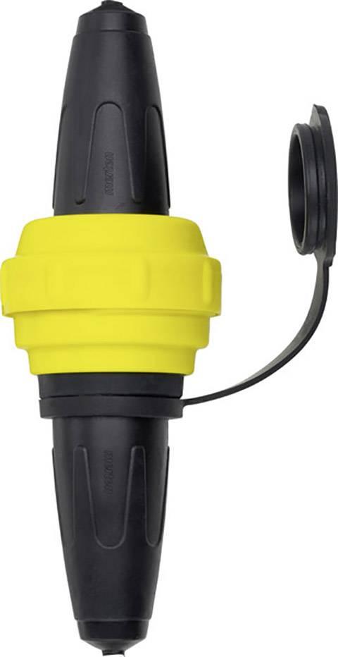 Zásuvné zařízení Schneider Electric 535493, plnogumové , IP44, 230 V, černá, žlutá