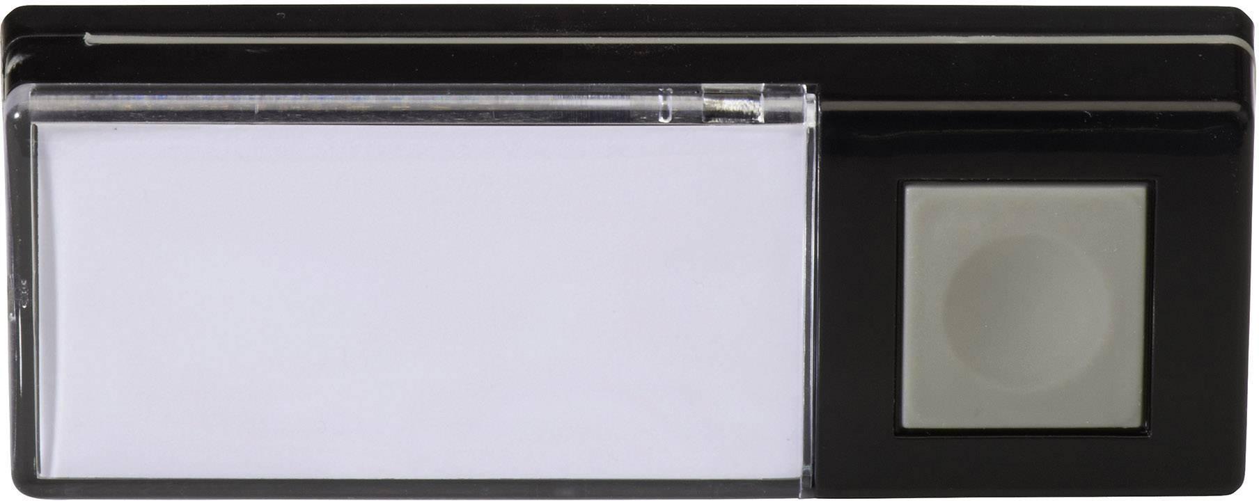 Bezdrôtový zvonček Heidemann HX 70883, vysielač, max. dosah 200 m, čierna