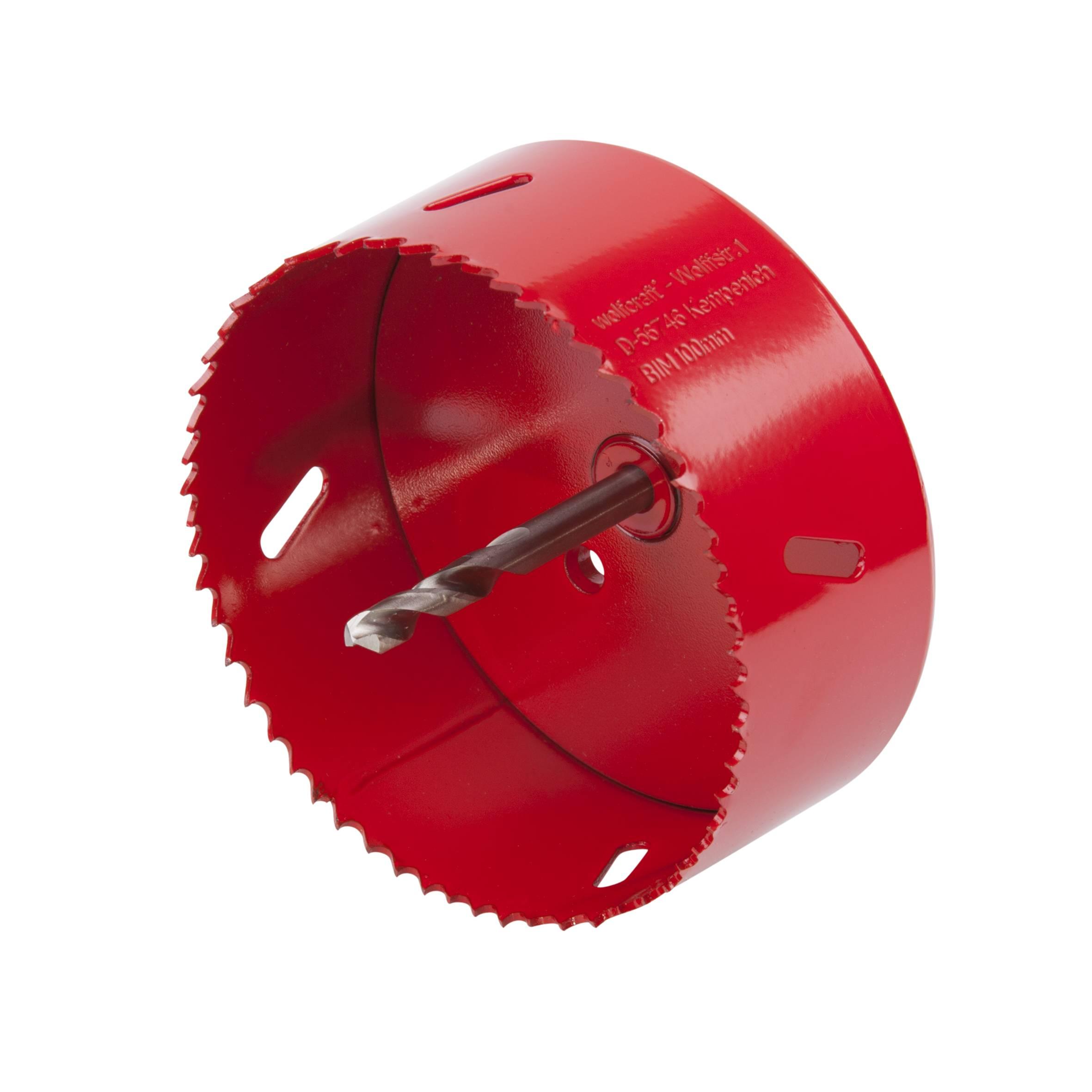 Vrtací korunka do dřeva, kovu a plastu Wolfcraft 5493000, 100 mm
