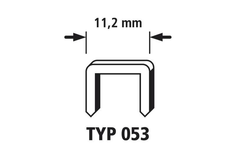 Sponka do sponkovače typ 053, 2000 ks