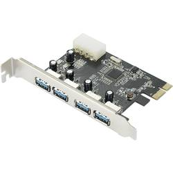 PCIe karta USB 3.0 Renkforce RF-4821054, 4 porty