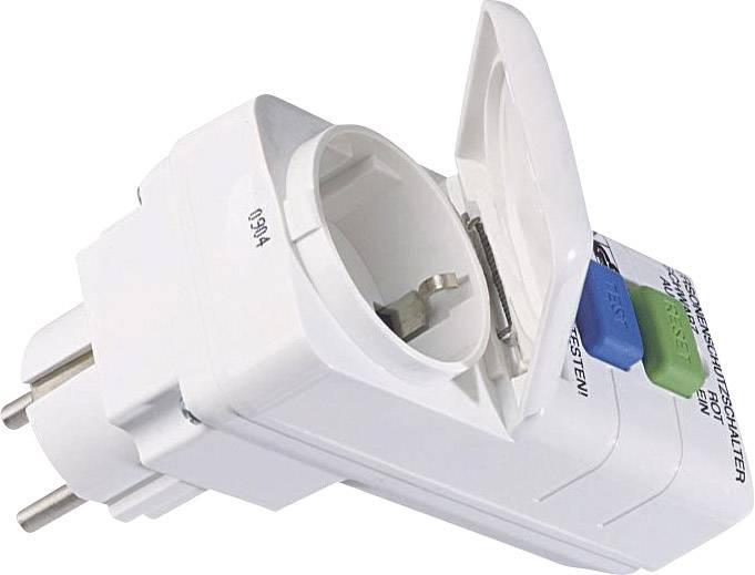 Bezpčnostní zásuvka Bachmann Electric, 919284, IP44, 30 mA, bílá