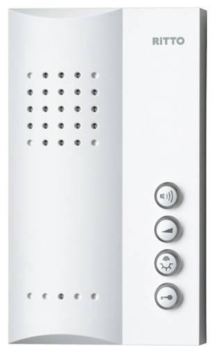 Kabelový domovní telefon Ritto by Schneider 1723070, bílá
