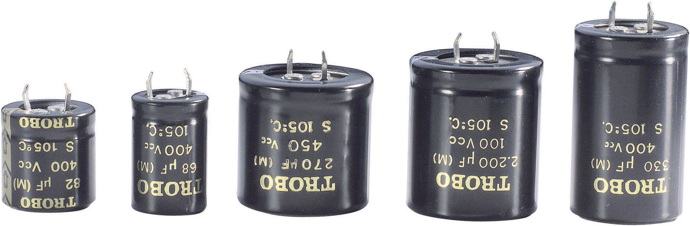 Snap In kondenzátor elektrolytický Epcos B43504-A9477-M, 470 µF, 400 V, 20 %, 50 x 35 mm