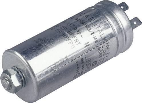 Fóliový kondenzátor MKP radiálne vývody, 1 µF, 500 V/AC,5 %, (Ø x v) 25 mm x 63 mm, 1 ks